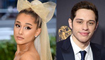Pete Davidson Reveals Tattoos Inspired by Ariana Grande