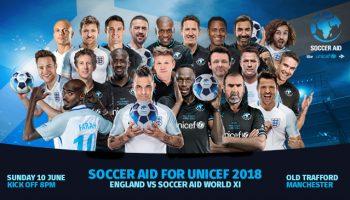 Soccer Aid 2018: Info Updates