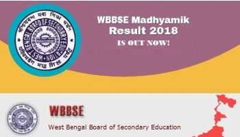 West Bengal Madhyamik Result 2018 Declared at 10 am