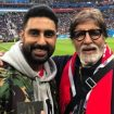Mukesh Ambani, Amitabh Bachchan spotted at World Cup 2018 elimination rounds