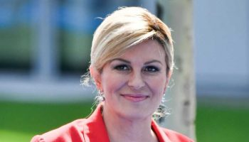 Croatian President Kolinda Grabar-Kitarovic 'Can hardly wait' For World Cup Final
