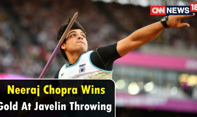 Neeraj Chopra wins javelin Gold at Meeting International Sotteville