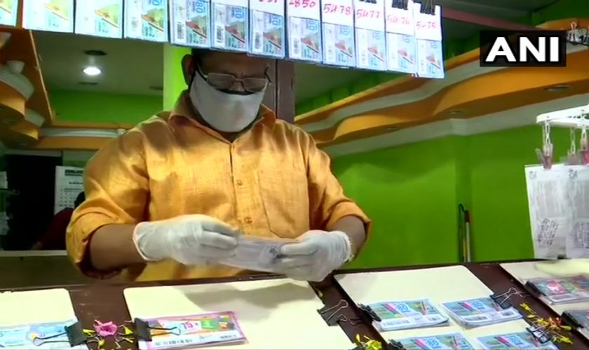 Kerala Resumes lottery tickets sale