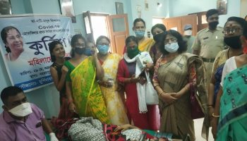 Murshidabad Mahila TMC blood donation camp
