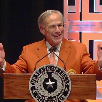 Greg Abbott Texas a State of Disaster