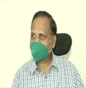Satyendra Jain tested positive for Covid-19