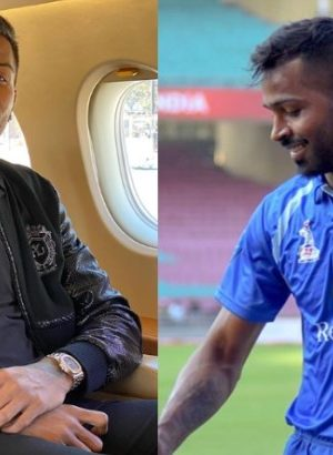 Hardik Pandya shares Magical stunt video on Instagram