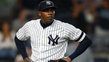 Yenkees' closer Aroldis Chapman tested coronavirus positive
