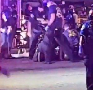 sever gunshot during Austin Protest one dead fb live video