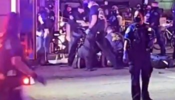 sever gunshot during Austin Protest one dead fb live video