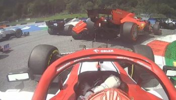 Leclerc blame himself for Vettel first lap collision in Styrian GP