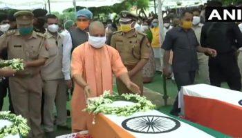 Kanpur Encounter : CM Yogi announces Rs.1 crore ex-gratia to kin of deceased