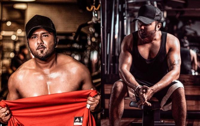 Yo Yo Honey Singh's transformation as body builder during lockdown