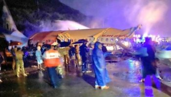 Air India IX-1344 flight skids off Karipur airport