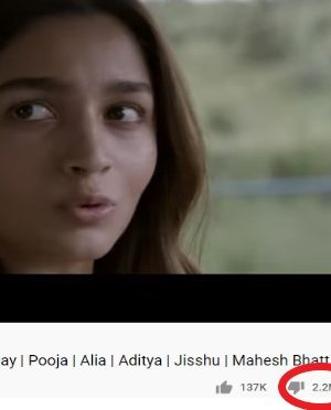 Alia Bhatt's Sadak 2 trailer received over 2M dislikes