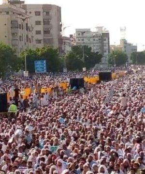 Anti-Shia protest in Karachi amidst Shia genocide in Pakistan