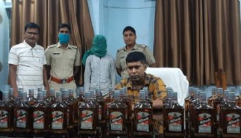 Chakulia Police seized 200 bottles of spurious liquor one arrested