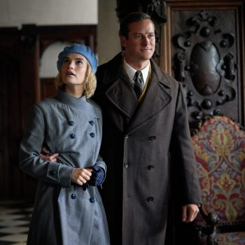 Lily James and Armie Hammer are a newly married couple haunted by the ghost of his late wife