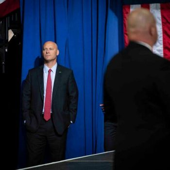The vice president's chief of staff, Marc Short, is one of at least four staff members who have tested positive for the coronavirus recently.