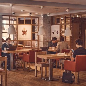 A Pret A Manger in London. The chain's new coffee subscription plan is also a way to gather data on the preferences of its customers.