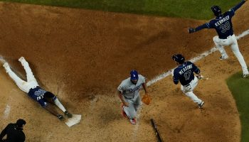 Rays Stun the Dodgers With a Chaotic Walk-Off Win in Game 4
