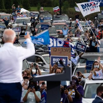 Biden piles up votes in Pennsylvania as he moves closer to finalizing a path to the White House