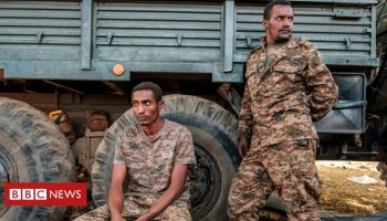 Ethiopia's Tigray crisis: Regional capital Mekelle 'under heavy fire'