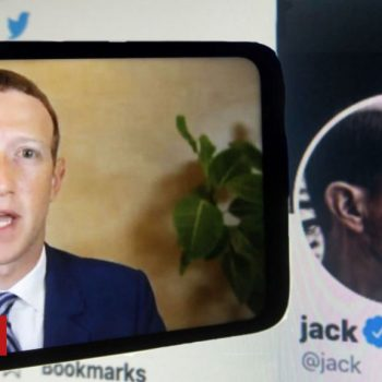 Facebook and Twitter's chiefs get grilled again