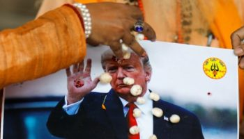 Hindu Sena offers prayers for the re-election of Trump