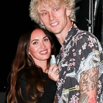 "Megan Fox Says Loving Machine Gun Kelly ""Is Like Being In Love With A Tsunami"""