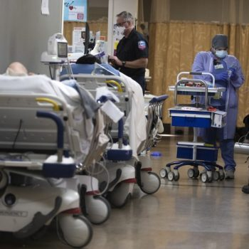 California National Guard medical corps pitches in to help struggling hospitals