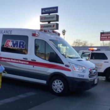 Homicide suspect dead, officer injured in San Bernardino police shooting: Officials