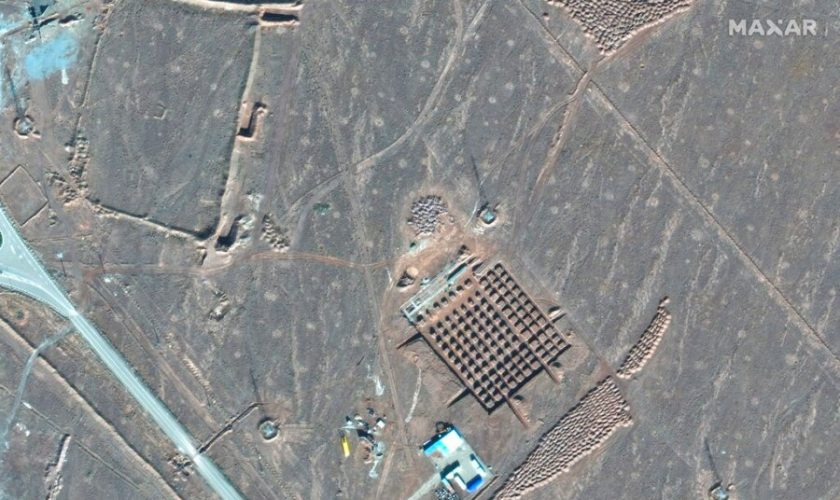 Iran starts new construction at underground nuclear facility amid U.S. tensions