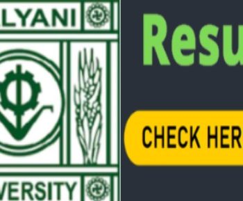 Kalyani University UG Semester 2 Result 2020 declared