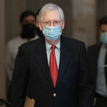 Mitch McConnell Is Trying To Block Mandatory Paid Sick Leave For Workers Who Get COVID