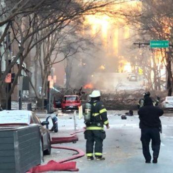 Big explosion rocked downtown Nashville on Christmas