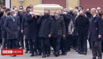 Paolo Rossi: Italian World Cup hero's home burgled during funeral