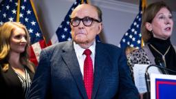 Rudy Giuliani tests positive for coronavirus, Trump says