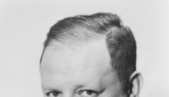 Herman Mankiewicz, MGM contract writer and the screenwriter for  Citizen Kane.  Ca. 1940s.
