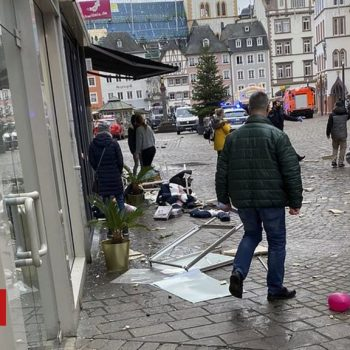 Trier: Several killed by car in pedestrian zone in Germany
