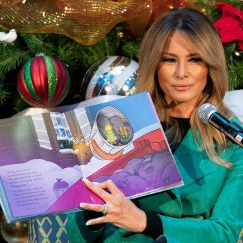 Trump news - live: Melania breaks children's hospital mask rule as White House dismisses electoral college
