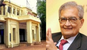 Amartya Sen name listed in illegal land holders of Visva-Bharati