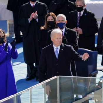 'We will defeat' white supremacy and extremism, Biden says in inaugural address