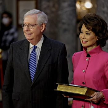 1st member of Trump's Cabinet — Elaine Chao — to resign because of Trump-incited riot at Capitol