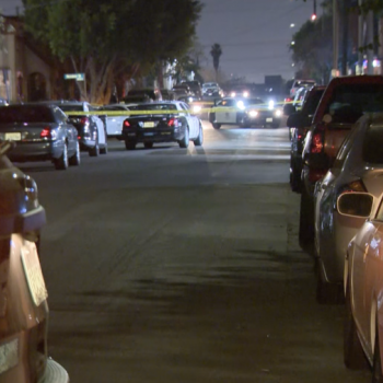 Assailant sought in Boyle Heights shooting that left 1 dead, 2 in critical condition