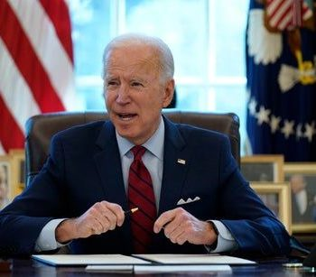 Biden news – live: Trump lawyers quit before impeachment trial as Giuliani to be sued over Capitol riot claims