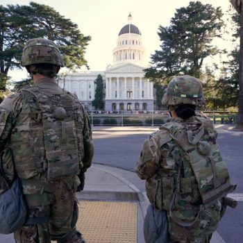 California spent $19M on security around state Capitol amid fears of civil unrest during inauguration
