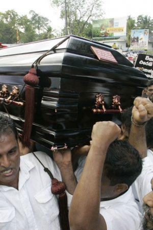 Daughter of slain Sri Lankan journalist files UN complaint