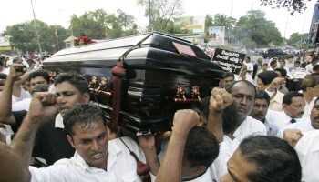 Daughter of slain Sri Lankan journalist files UN complaint