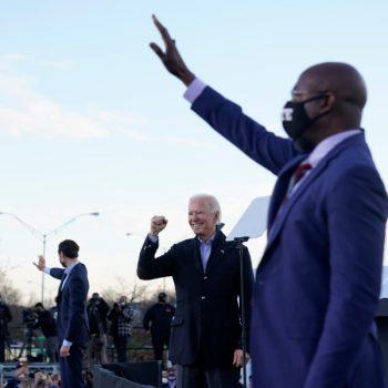 Democrat Warnock wins U.S. Senate race in Georgia; 2nd runoff too early to call